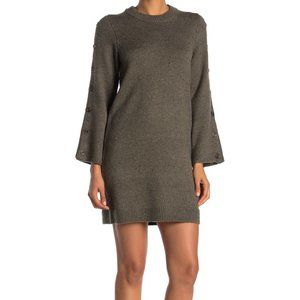 MADEWELL Donegal Forrest Green Sweater Dress